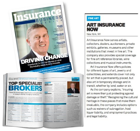 Art Insurance Now award image
