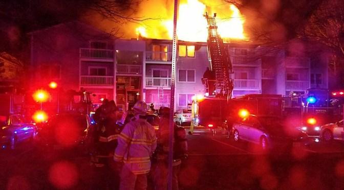 Fire & Water, Devastates Artist's Studio
