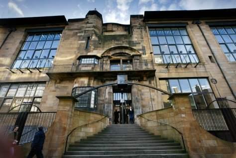 Mackintosh Building at The Glasgow School of Art
