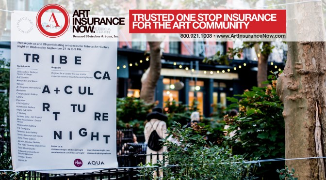Join us at Tribeca Art + Culture Night!