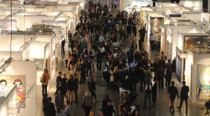 The Art World comes together at fairs, Insurance keeps it glued together.