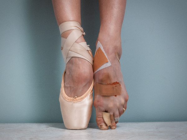 """""""Pointe"""" by Tyler Shields, used with permission"""