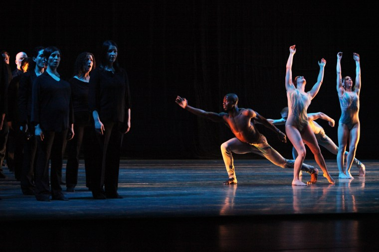 Bella Voce and GDC in Mist. Photo by Gorman Cook
