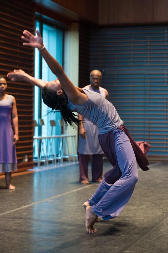Flatfoot Dance Company's Mzamo Jabu Siphika, Sifiso Selby Khumalo, and Sifiso Thamsanqa Majola | Photo by Ken Carl
