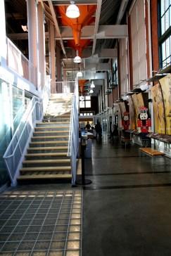 Entrance to the Bolender Center (photo: Lauren Warnecke)