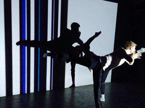 Robyn Mineko Williams, Company/Choreographer: Robyn Mineko Williams, Title of Work: UNDER(cover) Episode 002: Chicago, Dancers: Elliot Hammans and Adrienne Lipson