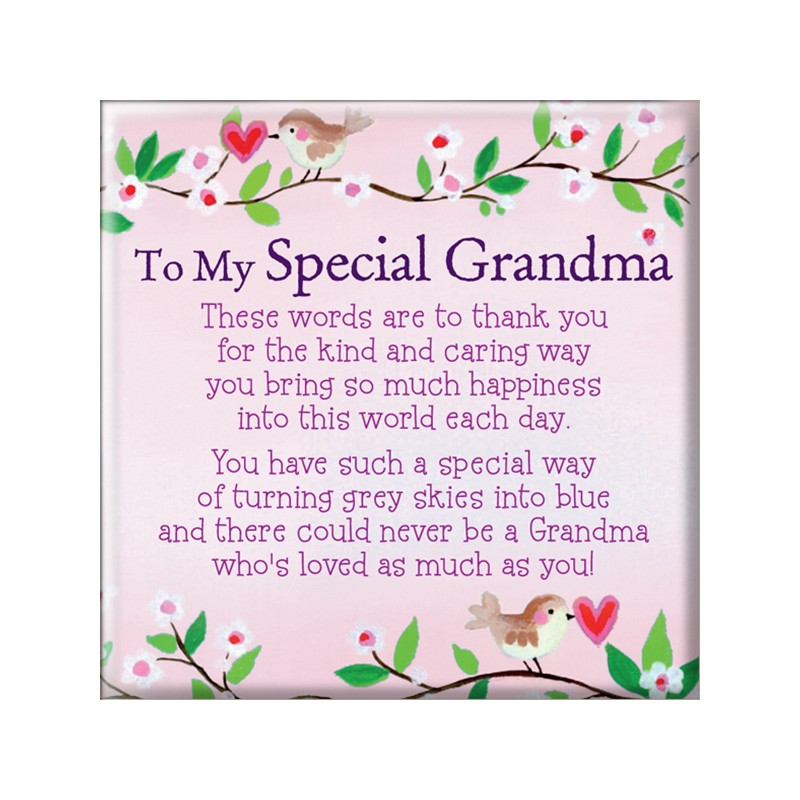 MT160 To My Special Grandma BSOL Magnet Artique