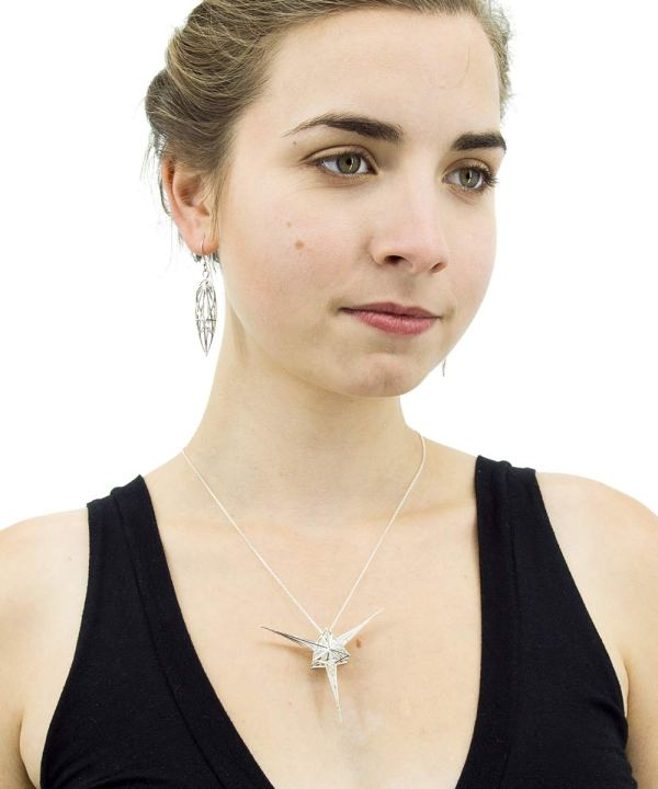 Angelic Star Sterling Silver on chain ArtisanGifts