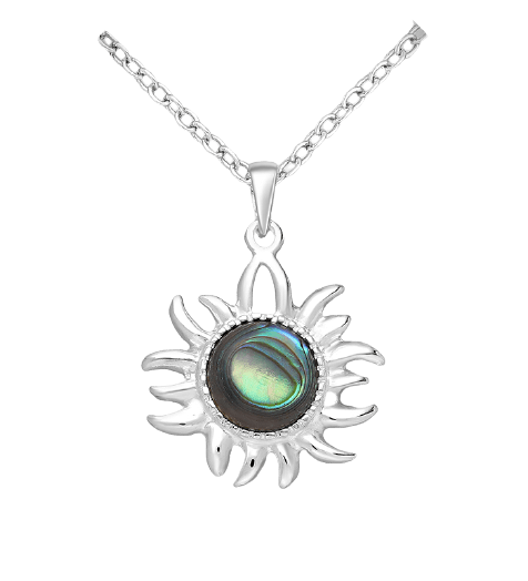 925 Sterling zilver Abalone ketting