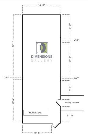 Dimensions Gallery Map