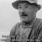 Compréhension du changement de la tradition ancestrale à l'agriculture industrialisée et chimique – Reportage Adieu Paysans – France 5 (11/10/2015)