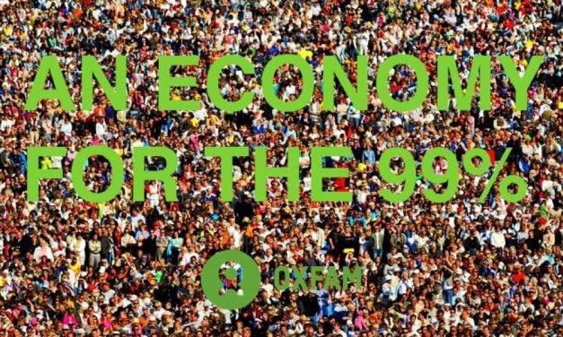 OXFAM – UNE ECONOMIE POUR LES 99% – RAPPORT