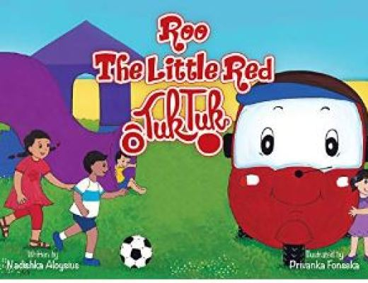 Roo, The Little Red Tuk Tuk by Nadishka Aloysius – Children's Book