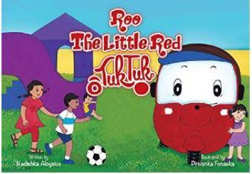 """Alt=""""Roo, The Little Red Tuk Tuk"""""""