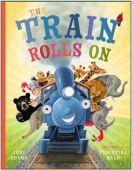 "Alt=""the train rolls on by jodi adams"""