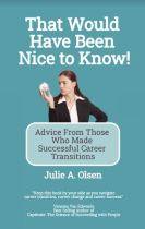 """Alt=That would have been nice to know by julie olsen"""""""