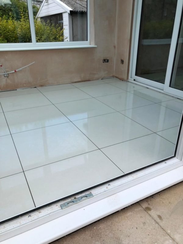 conservatory flooring ideas cloud polished 60 x 60 floor tile