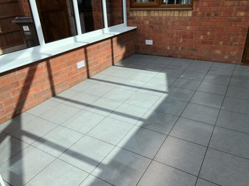 grey floor tiles chorley