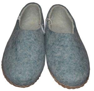chaussons homme en laine