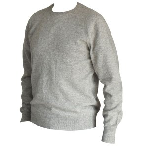 pull homme gris laine yak