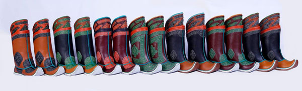 Les bottes traditionnelles