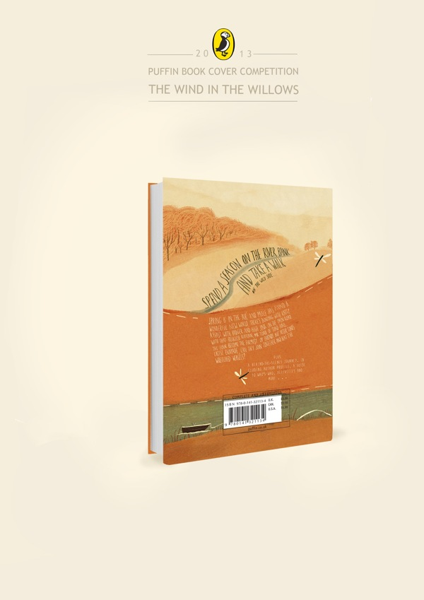 Book Cover Competition : The wind in willows book cover design contest by