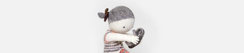 Irina Andreeva's Wool Sculptures.