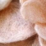 Amanda Fiebing's Organic Shapes in Wool.