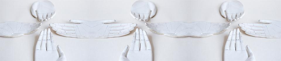 Hands by Kaye Blegvad.