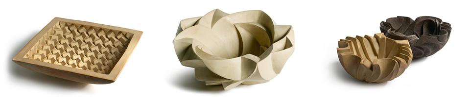 Ceramics by Halima Cassell.
