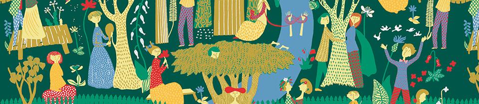 Patterns Designed by Stig Lindberg.