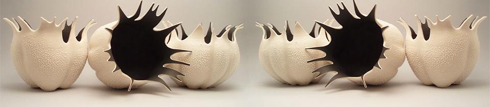 Ceramics by Eileen Braun.
