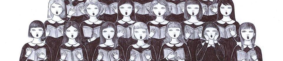 Drawings by Virginia Mori.