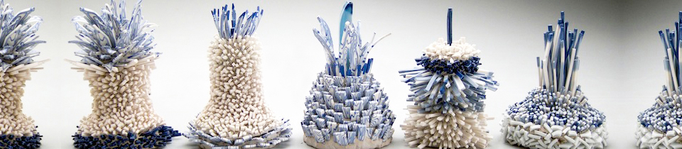 Ceramics by Zemer Peled.