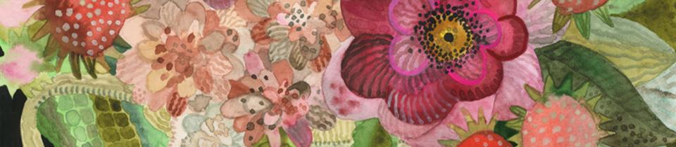Watercolors by Natalie Wargin.