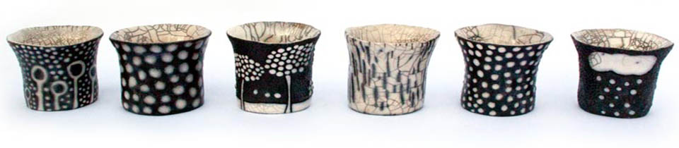 Ceramics by Camille Campignion.