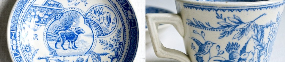 Blue and White for Inspiration.
