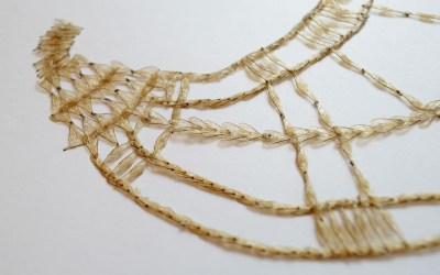 Luci Jockel's Sculptures and Jewelry Made of Bee Wings and Other Natural Materials