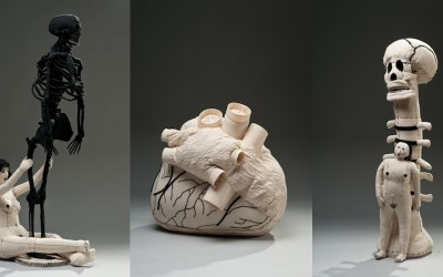 Fiber Sculptures by Miriam Medrez