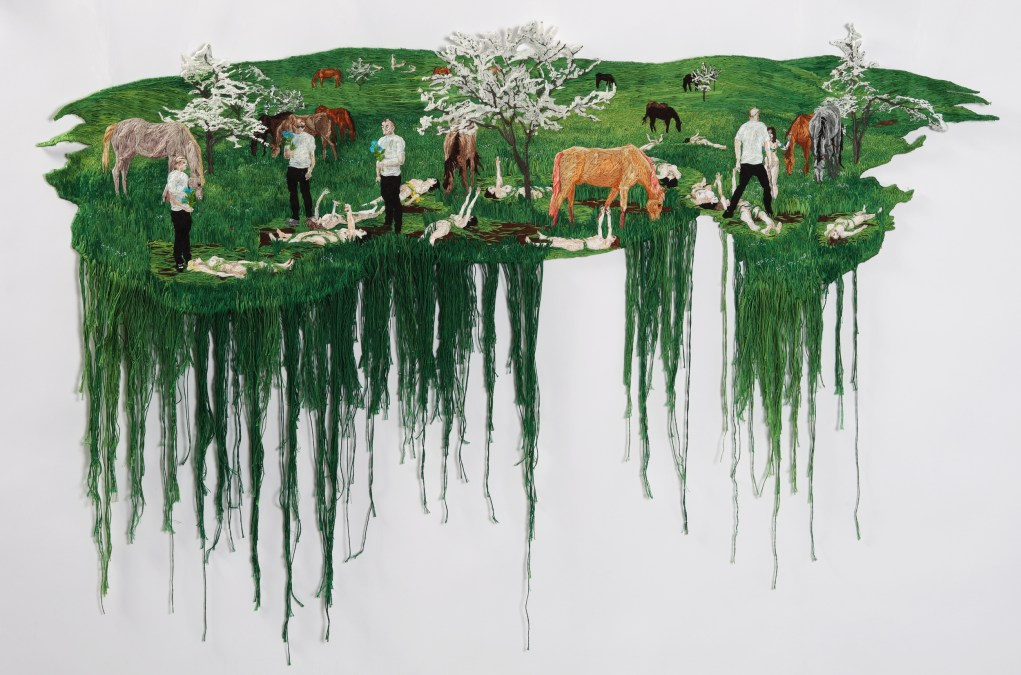 Embroideries by Sophia Narrett