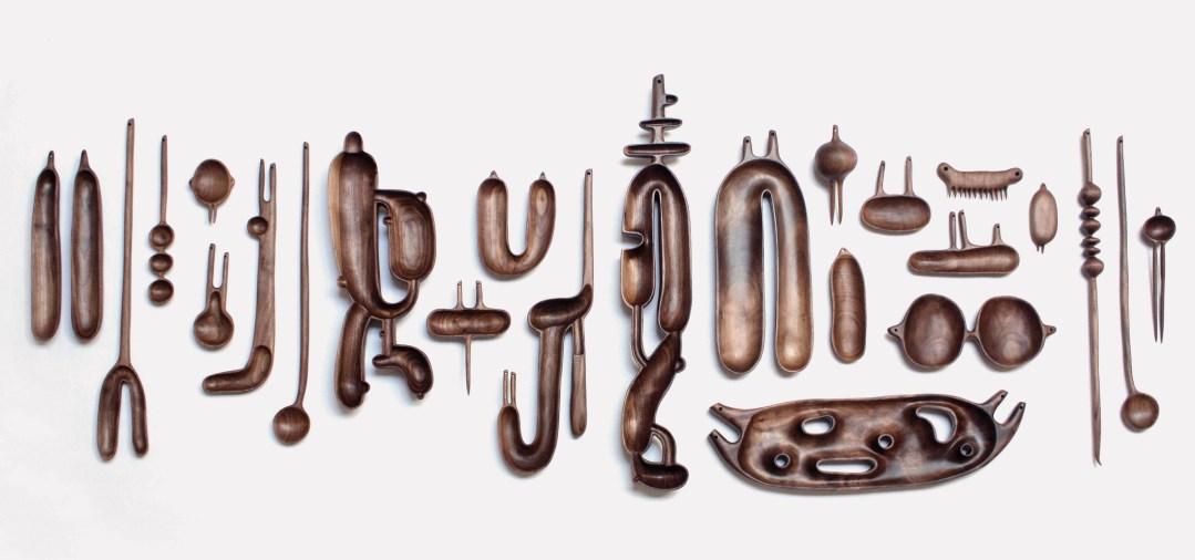 Wood Sculptures by Julian Watts