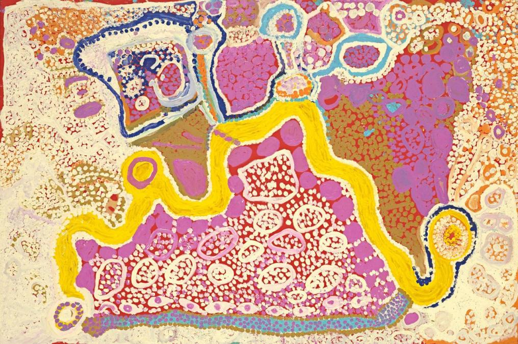 Paintings by Tiger Palpatja