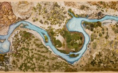 Textile Works by Alexandra Kehayoglou