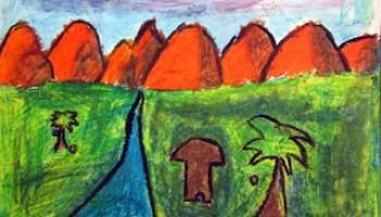 Oil Pastel Landscapes 2nd Grade