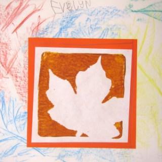 Leaves!– Kindergarten | Art is Basic | An Elementary Art Blog