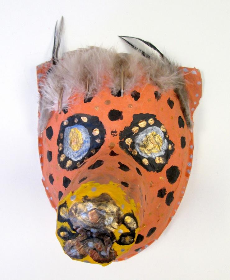 Paper Mache Animal Mask