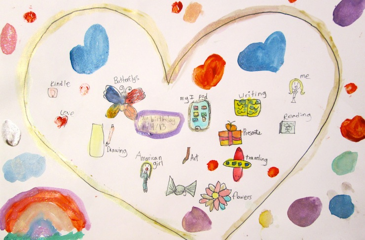 Valentine's Painting