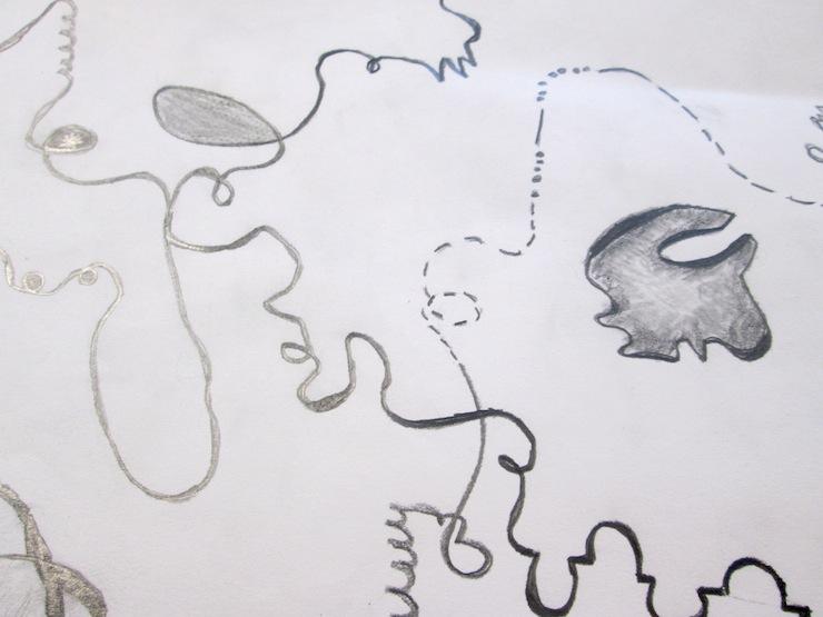Non-objective art lesson for kids