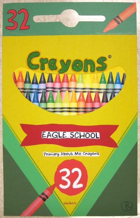 Crayon Poster