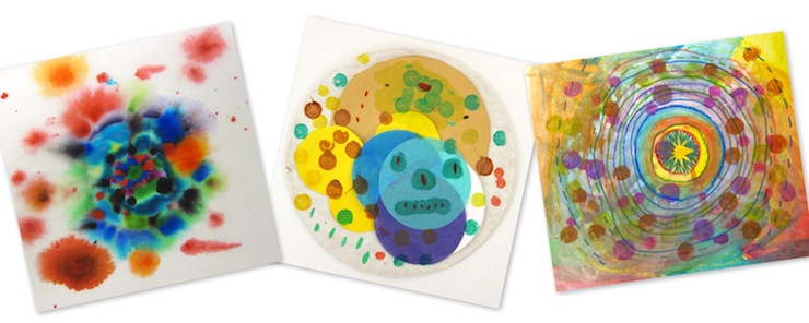 Dot Day Paintings